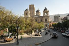 La Paz Stock Photo