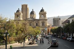 La Paz, Bolivia Royalty Free Stock Photo