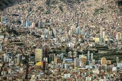 La paz, Bolivia royalty free stock photos