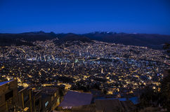 La paz, Bolivia stock photos