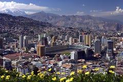 La Paz - Bolivien Stockfoto