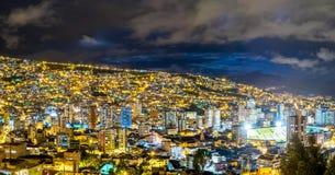 La Paz, Bolivien Stockfotografie