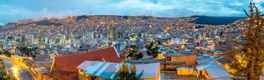 La Paz, Bolivien Stockbild
