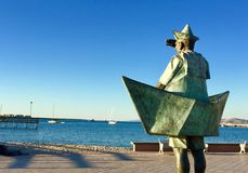 La Paz Sailor Stature Royalty Free Stock Images