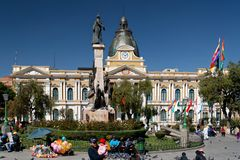 La Paz - capital boliviana 09 imagenes de archivo