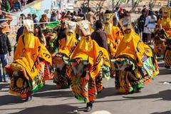 La Paz Carnival imagem de stock royalty free