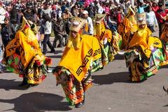 La Paz Carnival imagem de stock