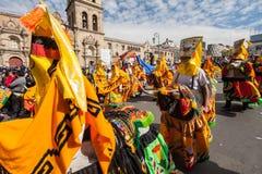 La Paz Carnival Stock Image