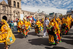 La Paz Carnival Royalty Free Stock Photo