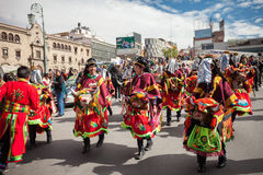 La Paz Carnival Royalty Free Stock Images
