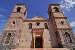 La Paz Cathedral Royalty Free Stock Photo