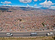 La Paz City Royalty Free Stock Photo