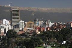 La Paz City Buildings Stock Photography