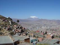 La Paz city Stock Images