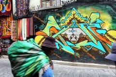 La Paz della via Fotografie Stock