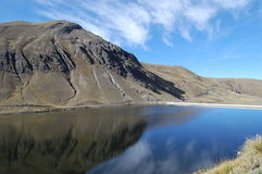 La Paz Lake Stock Afbeelding