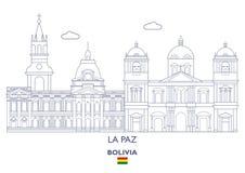 La Paz City Skyline, Bolivia Royalty Free Stock Photo