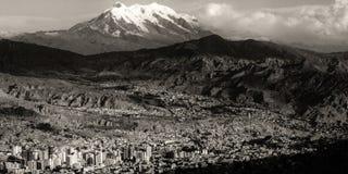 La Paz Macrodistrito Maximiliano Parede Royaltyfria Bilder