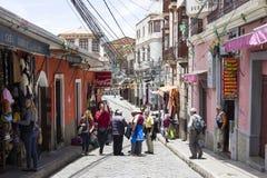 La Paz - marketstreet Photographie stock