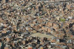 La Paz from Mirador Stock Photography