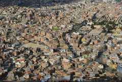 La Paz from Mirador Stock Photos