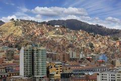 La Paz panorama Royalty Free Stock Photo