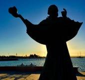 La Paz Poseidon Stature fotografia de stock royalty free