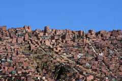 La paz skyline Stock Photos