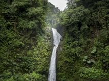 La Paz Waterfall, Primeval Forest stock image