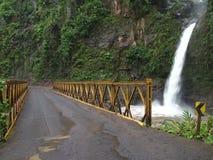 The  La Paz waterfalls Stock Photo