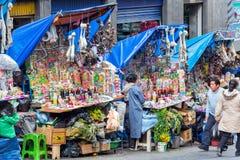 La Paz Witches Market Immagini Stock