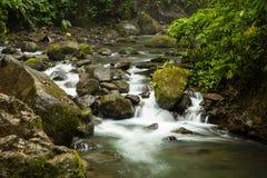 La- Pazfluß fotografiert in Costa Rica lizenzfreie stockfotos