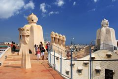 La Pedrera Royalty Free Stock Images