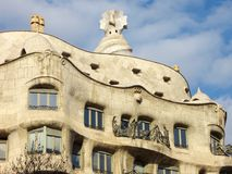 La Pedrera Royalty Free Stock Photo