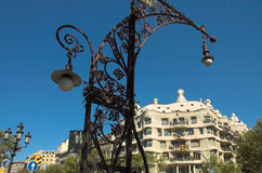 La Pedrera, Antoni Gaudi Royalty Free Stock Photography