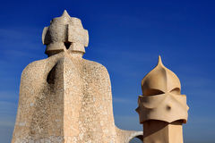 La Pedrera by Antoni Gaudi Royalty Free Stock Photos