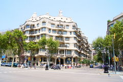 La Pedrera, Antoni Gaudi Royalty Free Stock Photo