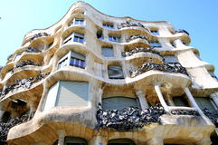 La Pedrera - Antoni Gaudi Royalty Free Stock Photography