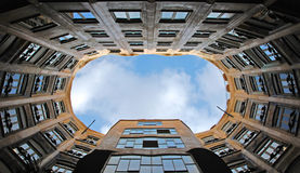 La Pedrera atrium view Stock Photography