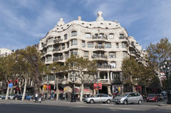 La Pedrera, Barcelona Royalty Free Stock Photos