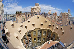 La Pedrera, Barcelona Royalty Free Stock Photography
