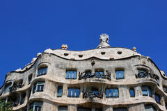 La Pedrera in Barcelona, Spain Royalty Free Stock Photo