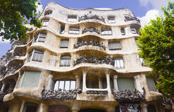 La Pedrera, Barcelona, Spain Stock Photos