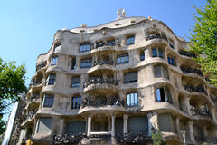 La Pedrera, Barcelona, Spain Royalty Free Stock Images