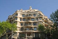 La Pedrera in Barcelona, Spain Royalty Free Stock Image