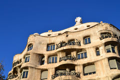La Pedrera, Barcelona - Spain Stock Photography