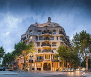 La Pedrera, Barcelone Photo stock