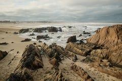 La Pedrera beach Royalty Free Stock Photo