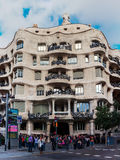 La Pedrera building in Barcelona, Catalonia, Spain Royalty Free Stock Image