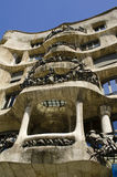 La Pedrera. Casa Mila. Stock Photo